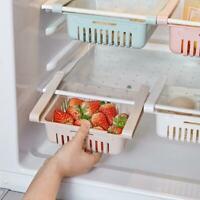 Refrigerator Storage Rack Fridge Drawer Freezer Shelf Box Pull-out Spacer Layer