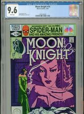 1981 MARVEL MOON KNIGHT #14 1ST APPEARANCE STAINED GLASS SCARLET CGC 9.6 WHITE