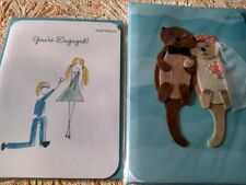 Lot Set Of 2 Papyrus Cards You're Engaged & Made For Each Other Rt $13.90