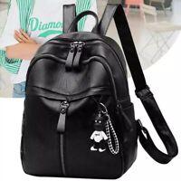 Women ladies Leather small Backpacks for Teenage Girls Female School Shoulder