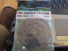 NEW RCBS RELOADING PRO CHUCKER 7 STATION SHELL PLATE  #12 88956
