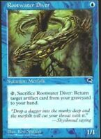 4x Rootwater Diver MTG Tempest NM Magic Regular