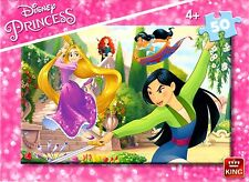 Infantil para Niños y Niñas ( 4+) Piezas Disney Princess Jigsaw Puzzle Puzzle