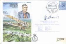 HA24c MRAF Trenchard 1978 RAF signed RAF cover MRAF Beetham DFC AFC