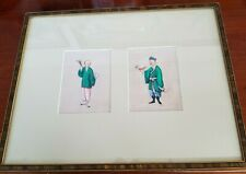 Framed 19th Century Qing Dynasty Chinese Watercolor Pith Rice Paper Paintings