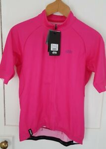 New dhb Aeron Short Sleeve Cycling Jersey In Pink. Mens Large. BNWT
