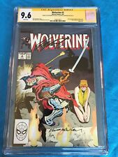 Wolverine #3 - Marvel - CGC SS 9.6 NM+ - Signed by Chris Claremont, Kevin Nowlan