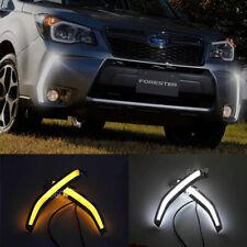 2X LED Daytime Running Light For Subaru Forester XT 2013-2015 DRL Fog Lamp White