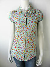 Denny Rose Damen Bluse T-Shirt Top Shirt Mit Perlenkette 4505 Neu M