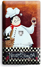 DRUNK FRENCH FAT CHEF PHONE TELEPHONE WALL PLATE COVER KITCHEN DINING ROOM DECOR