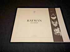 BATMAN le defi  tim burton dossier presse scenario cinema bd comics 55 pages