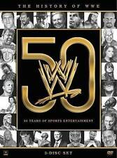 WWE: History of the WWE (DVD, 2013, 3-Disc Set)  New/Sealed