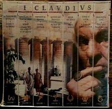 I, CLAUDIUS, 7 VHS Tape Set (1996 Gift Box) SEALED