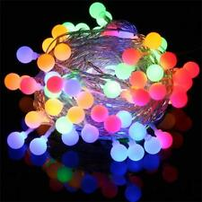 Battery Powered 30/50LED String Lights Christmas Tree Wedding Home Party Decor