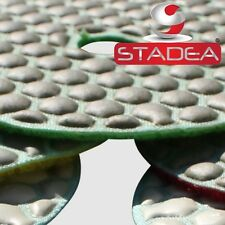 "Stadea Concrete Diamond Polishing Pads Dry Sanding Discs 4"" Granite Glass Marble"