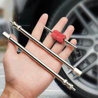 Straight Metal Dual Wheel Valve Stem Extensions For Car Coach Trailer Motorhome
