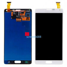 For Samsung Galaxy Note 4 N910F LCD Touch screen Display Digitizer white+cover