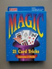 NEU - HOYLE MAGIC - 2 Kartendecks inkl. Anleitung für 21 Zaubertricks