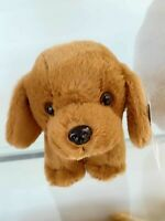 RALPH the Plush GOLDEN RETRIEVER Pup Dog Stuffed Animal Fluffy Cuddle Toys