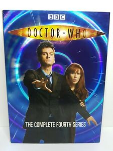 Doctor Who Complete Series 4 (DVD PAL Region 4) David Tennant, Catherine Tate
