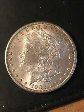 1902 O $1 Morgan Silver Dollar Strong strike looks AU nice luster Trouble free