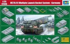 Trumpeter 1/35 M270/A1 Multiple Launch Rocket System - Germany # 01046