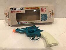 VINTAGE *NOS* LONE STAR DETECTIVE SUPER-SHOT RING CAP GUN TOY ENGLAND