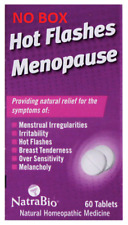 Hot Flashes Menopause 60 Tablets NatraBio  - 24HR DISPATCH