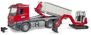 BRU3624 - Truck Container Mercedes Benz Arocs With Wedge Bracket Schaeff Hr 16