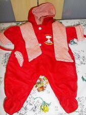 ♥ habit vêtement COROLLE combinaison pilote rouge pour poupée 36 cm ☼ 2006