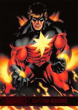 CAPTAIN MARVEL / Marvel Greatest Heroes (2012) BASE Trading Card #15