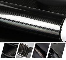 (19EUR/m²) Carbonfolie Autofolie Folie Carbon Auto schwarz glanz glänzend - 5D