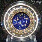 2019 Sagittarius Zodiac Series#12 $5 Pure Silver Coin w/Swarovski Crystal Canada
