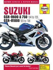 GSX-R Motorcycle Service & Repair Manuals