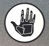 BODY GLOVE Sticker Surfboard Decal 4in black circle si