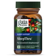 Sleep Thru Gaia Herbs 30 VCaps