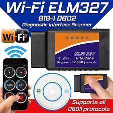 Wi-fi Wifi ELM327 Coche OBDII Bluetooth diagnóstico interfaz OBD2 para iPhone iPad