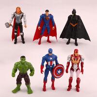 Marvel Avengers Super Hero Captain America Incredible Hulk Kid Action Figure Toy