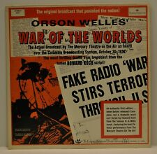 """Orson Welles """"War of the Worlds"""" Longines 5251"""