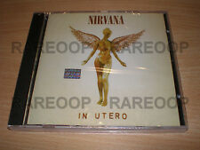 In Utero by Nirvana (CD, 2014, Universal) MADE IN ARGENTINA NEW SEALED