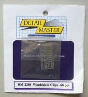 WINDSHIELD CLIPS 1:24 1:25 DETAIL MASTER CAR MODEL ACCESSORY 2280