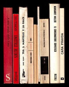 LOTTO 10 libri tema RUSSIA URSS (saggi, narrativa..)