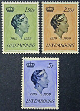 LUXEMBOURG timbres/Stamps Yvert et Tellier n°559 à 561 (r) n** (cyn8)