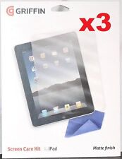 x3 iPad Screen Protector Kit
