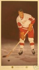 Gordie Howe Detroit Red Wings Autographed Lithograph