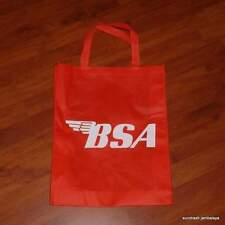 BSA Tote Parts Shopping Bag Lightning Victor Rocket 3 441 650 750 red/white