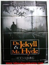 DOCTEUR JEKYLL ET MISTER HYDE Affiche Ciné Originale Movie Poster SPENCER TRACY