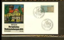 [PB04_181] 1975 - Berlin (West) FDC Mi. 508 (1) - Architecture - Buildings - Eur