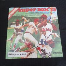 Magnavox Budweiser Super Sox 75 1975 Boston Red Sox Record Album SEALED