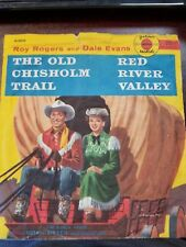 ROY ROGERS & DALE EVANS The old Chisholm trail GOLDEN RECORDS R380